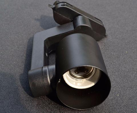 Трековый светильник под лампу PAR30 (черный)