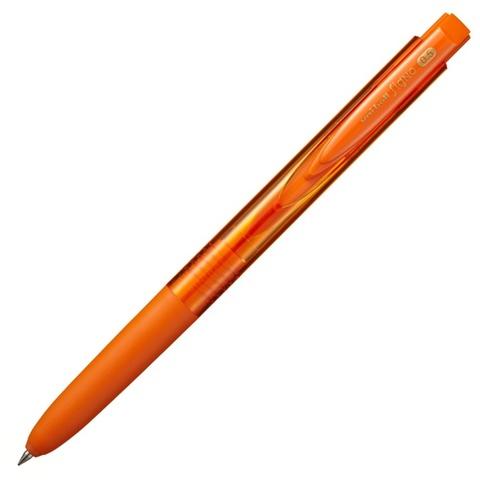 Гелевая ручка Uni-ball Signo RT1 0.5 оранжевая