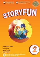 Storyfun for Starters 2nd Edition 2 Teacher's Book with Audio