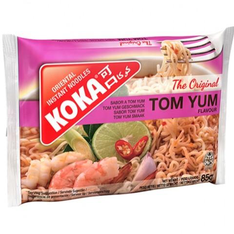 Лапша сингапурская со вкусом Том Ям в пакете KOKA, 85г