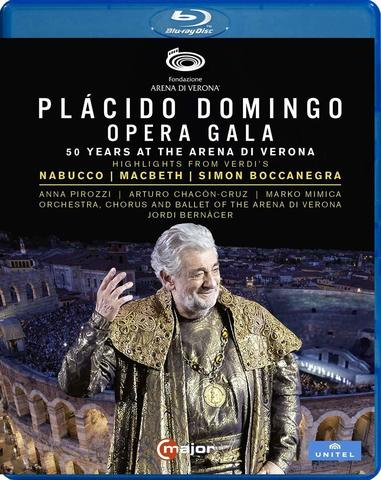 DOMINGO, PLACIDO : Domingo: Opera Gala - 50 Years At The Arena Di Verona (Bd)