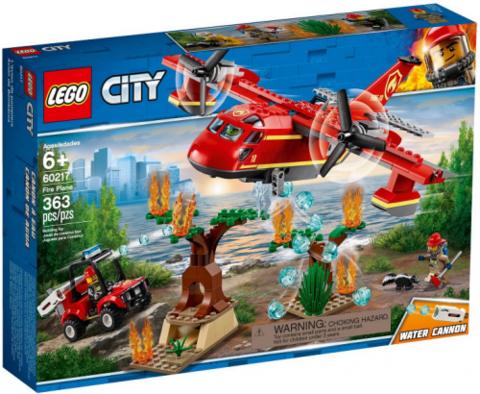 Lego konstruktor City Fire Plane