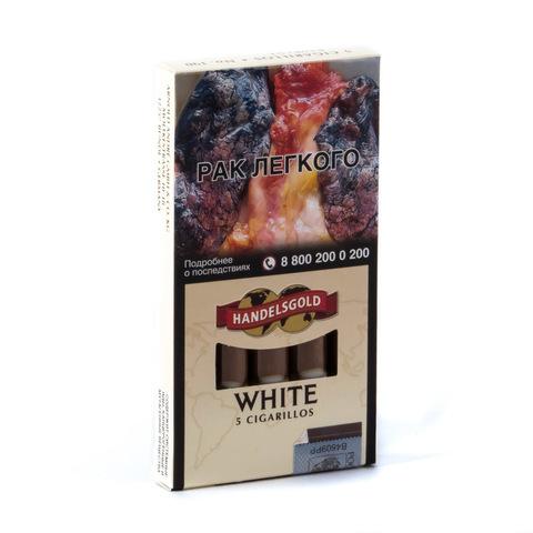 Сигариллы Handelsgold White Cigarillos 5 шт