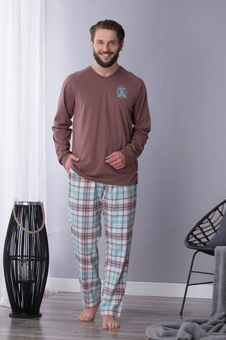 Пижама мужская со штанами KEY MNS 450 B21