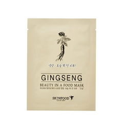 Маска SKINFOOD Beauty In a Food Mask Ginseng 1шт.