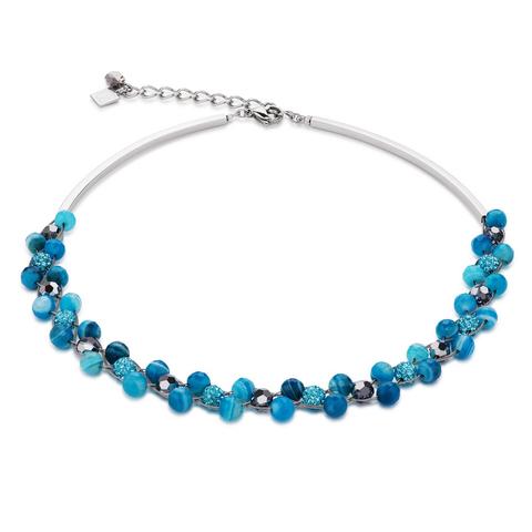 Колье Coeur de Lion 4895/10-0600 цвет голубой