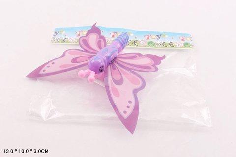 Заводная бабочка микс 3цвета в пакете I710-H13003/YT529-12