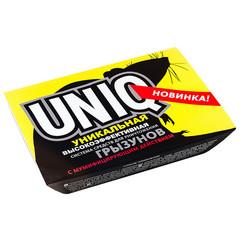 Средство для уничтожения грызунов Uniq гель 150 г + гранулы 100 г