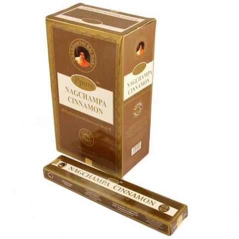 Индийские палочки Ppure NagChampa Cinnamon
