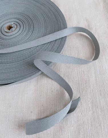 Киперная тесьма 10мм, серый