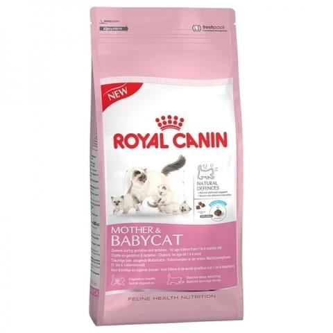 Корм Royal Canin Mother&BabyCat Сухой корм для котят от 1 до 4 месяцев, для беременных и лактирующих кошек 2 кг