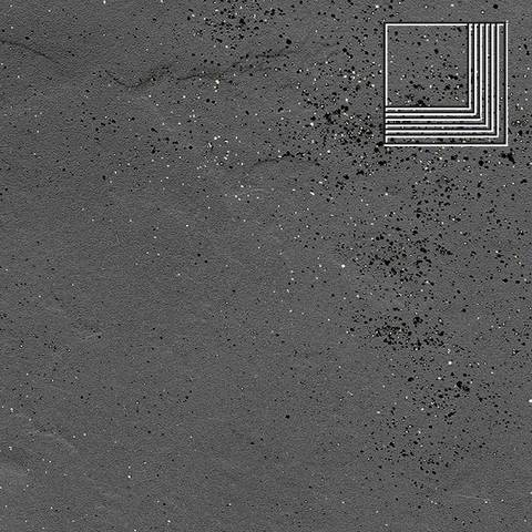 Ceramika Paradyz - Semir Grafit, 300x300x11, артикул 5261 - Ступень угловая структурная