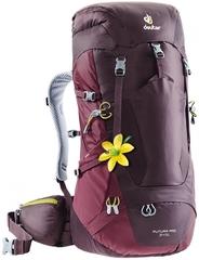 Deuter Futura Pro 34 Sl Aubergine-Maron - рюкзак туристический