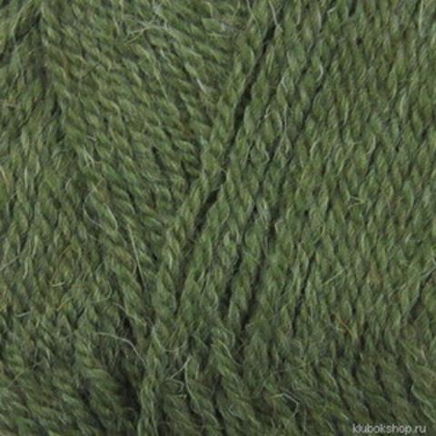 Пряжа Носочная (Пехорка) 760 Оливковый, фото
