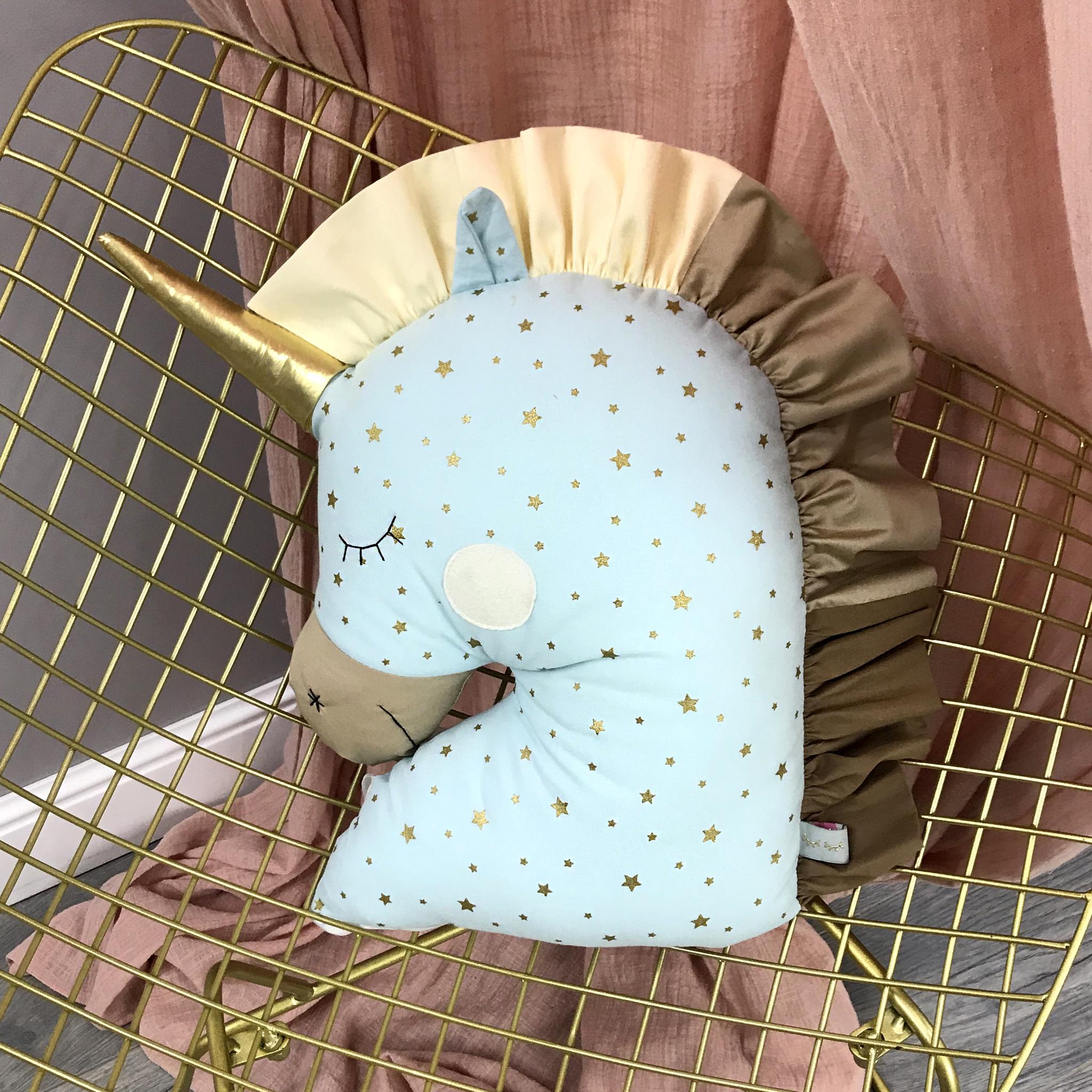 Бортик подушка Единорог 4