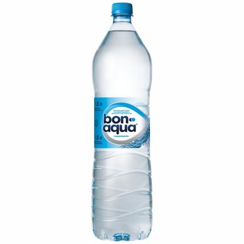 Вода питьевая BONAQUA б/газ 1,5 л пл/б КАЗАХСТАН