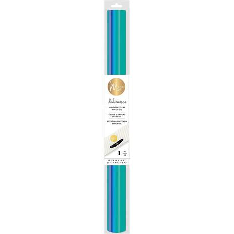 Фольга Heidi Swapp Minc Reactive Foil от We R Memory Keepers . 30,5 х 243,8 см. Цвет -Iridescent Teal
