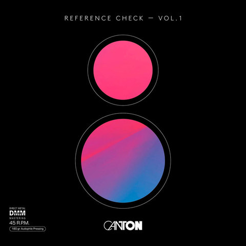 Inakustik LP, Canton Reference Check Vol. 1 (45 RPM), 01678101