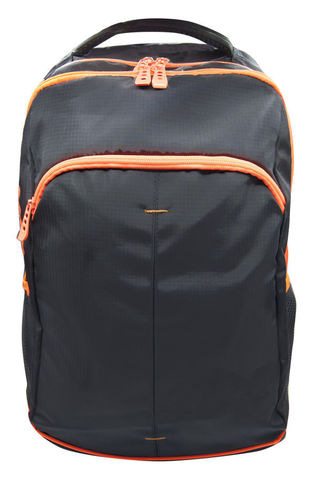 Рюкзак Silwerhof Power, черный/неоново-оранжевый, 31х17х48 см, 18 л