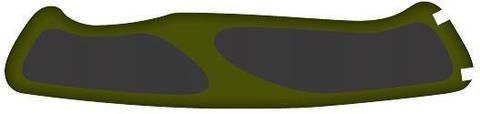 Задняя накладка для ножей Victorinox 130 мм, нейлоновая, зелёно-чёрная