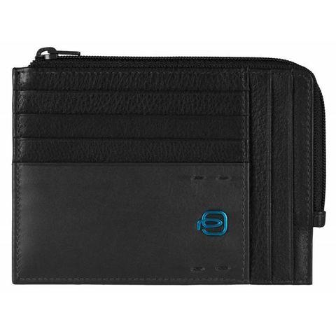 Чехол для кредитных карт Piquadro Pulse (PU1243P15/N) черный кожа