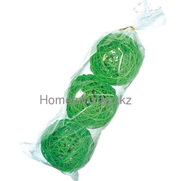Декоративные шары 9 см * 3 шт.