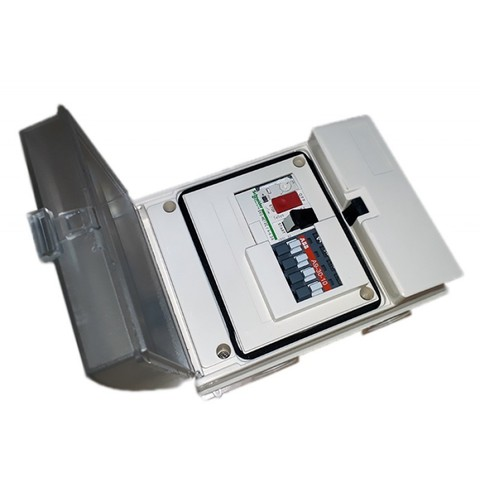 Пульт управления аттракционом PoolKing 380В, 4,0 кВт, 9-14А, с пневмовыключателем