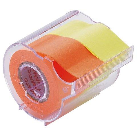 Диспенсер Yamato Memoc Roll Tape 25 мм - Orange/Lemon