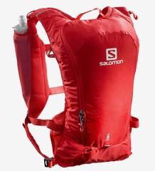 Рюкзак для бега Salomon Agile 6 Set Goji Berry