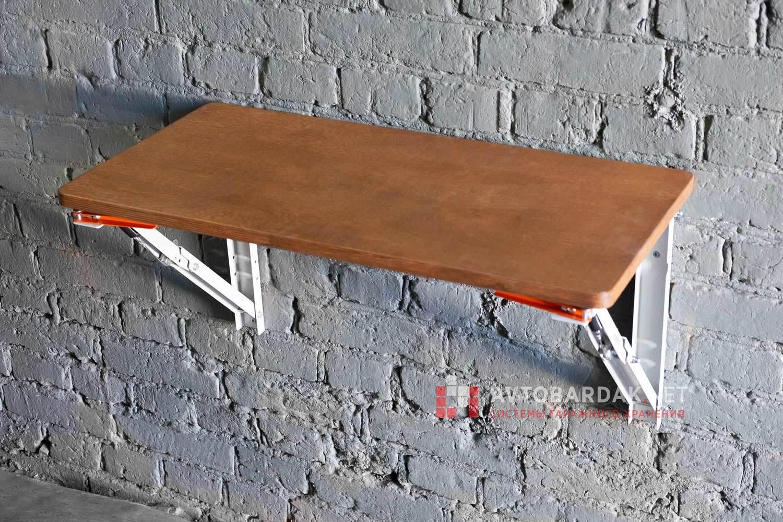 Деревянная столешница для откидного стола