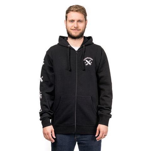 Толстовка Horsefeathers M SKELETON hoodie (black)