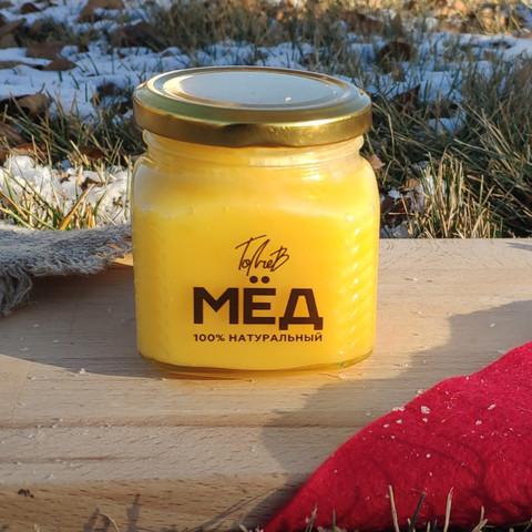 Мёд цветочный конец лета 2020 Ивановка 330 г