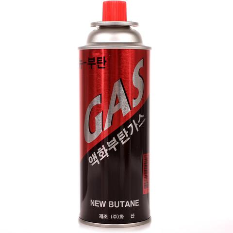 Газовый баллон малый Красный Корея 220г