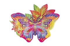 Драгоценная бабочка от Wood Trick - сборные пазлы причудливой формы, это картины, которые вы собираете сами