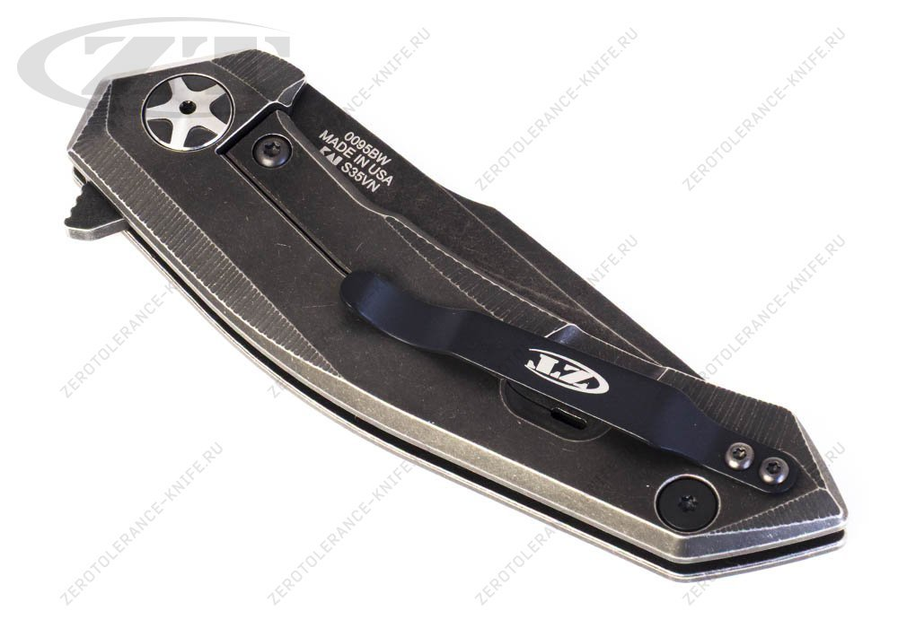 Нож Zero Tolerance 0095BW USF textured - фотография
