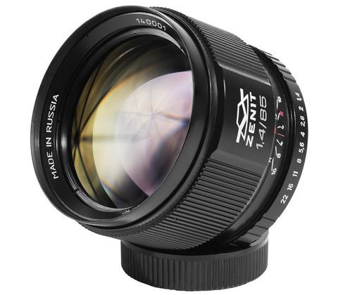 Объектив Зенит МС Зенитар-C 1,4/85 для Canon EF