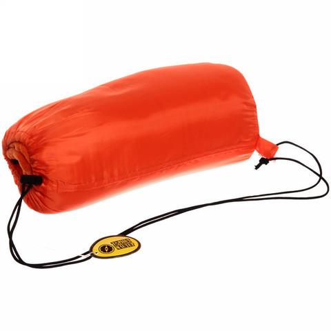 Мешок спальный одеяло флизелиновый 175*75 см, оранжевый +20С