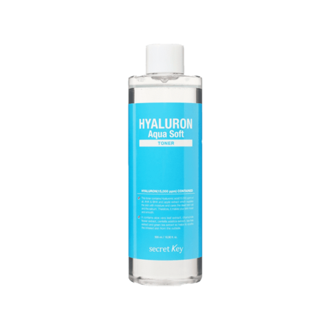 Тонер для лица гиалуроновый Secret Key Hyaluron Aqua Soft Toner