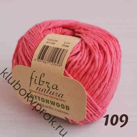 FIBRANATURA COTTONWOOD 41109, Темный розовый