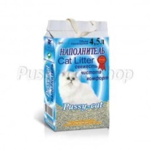 Пусси Кэт (Pussy Cat) цеолитовый 4,5 л