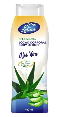 AFRO LATINA Body Lotion 400 ml Aloe (алоэ)