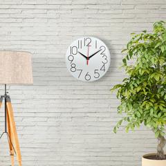 Часы настенные классические, плавный бесшумный механизм, 28 см