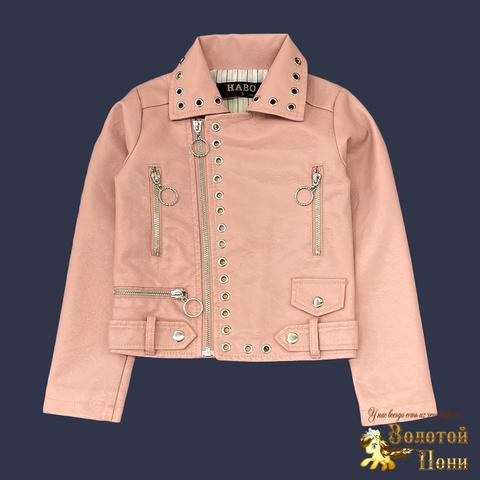 Куртка экокожа девочке (5-10) 210805-К77823