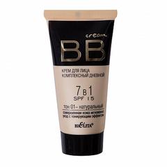 BB cream тон 01 - натуральный, Bielita. 30 ml