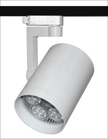 Трековый светильник под лампу PAR30 (белый)