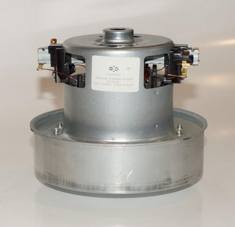 Двигатель пылесоса универсальный 1500W (HX-150, YDC07, PA1500W)  H-120мм, D-130мм
