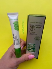 Восстанавливающий гель-крем для век  с алоэ BioAqua  Aloe Vera 92% Eye Gel, 20 мл