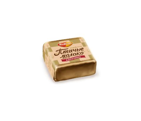 Конфеты Птичье молоко со вкусом капучино, Рот Фронт