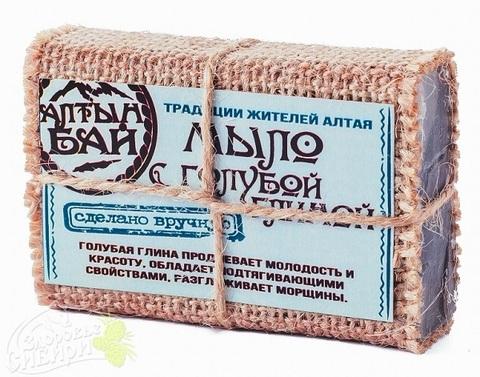 Мыло Алтын Бай С голубой глиной, 80 г