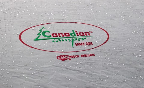 Шатер Canadian Camper SPACE ONE, цвет royal, водонепроницаемость тента.